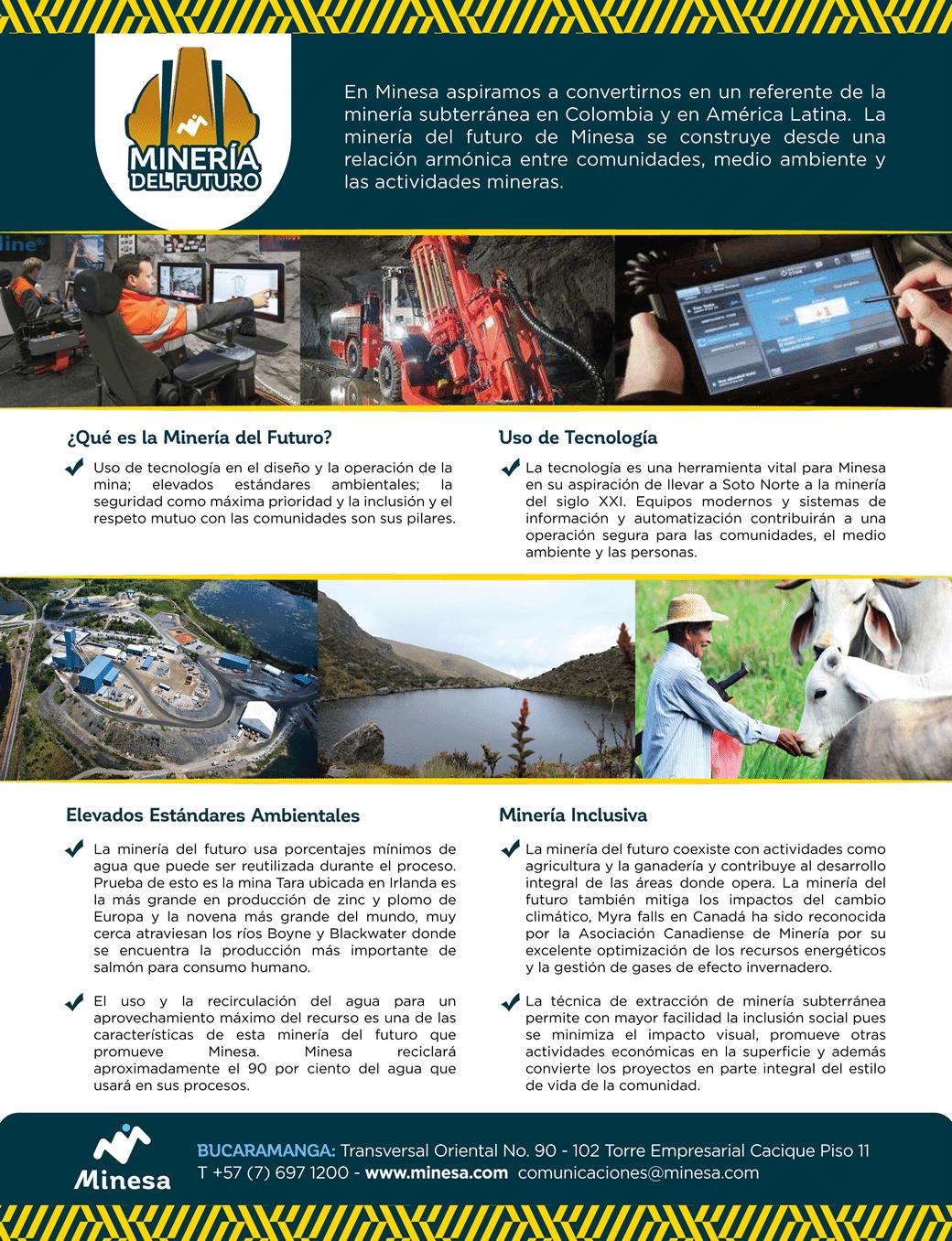 Minesa: minería del futuro